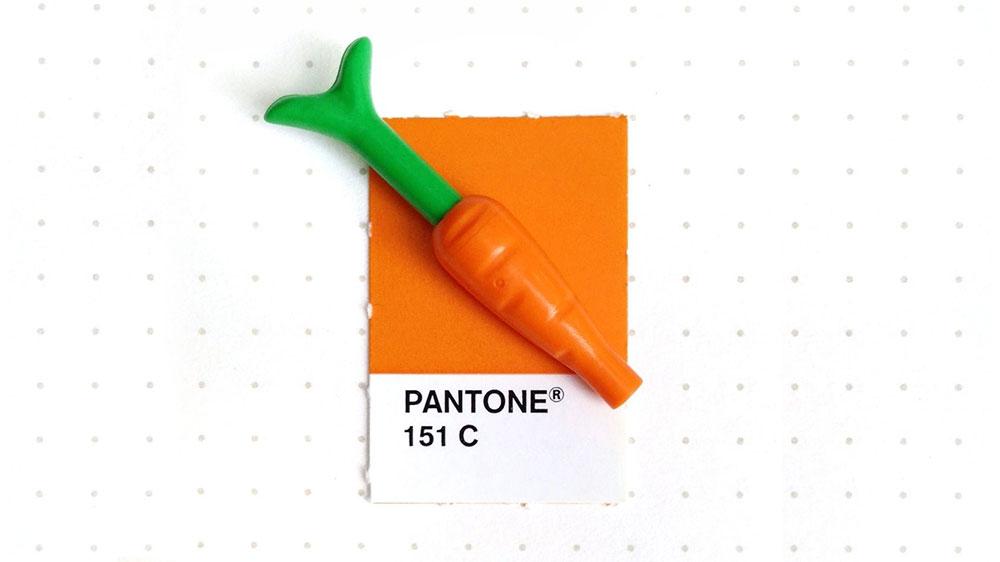 Colores Pantone de pequeños objetos