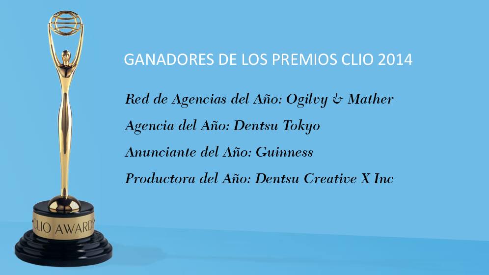 Ganadores de los Premios Clio 2014