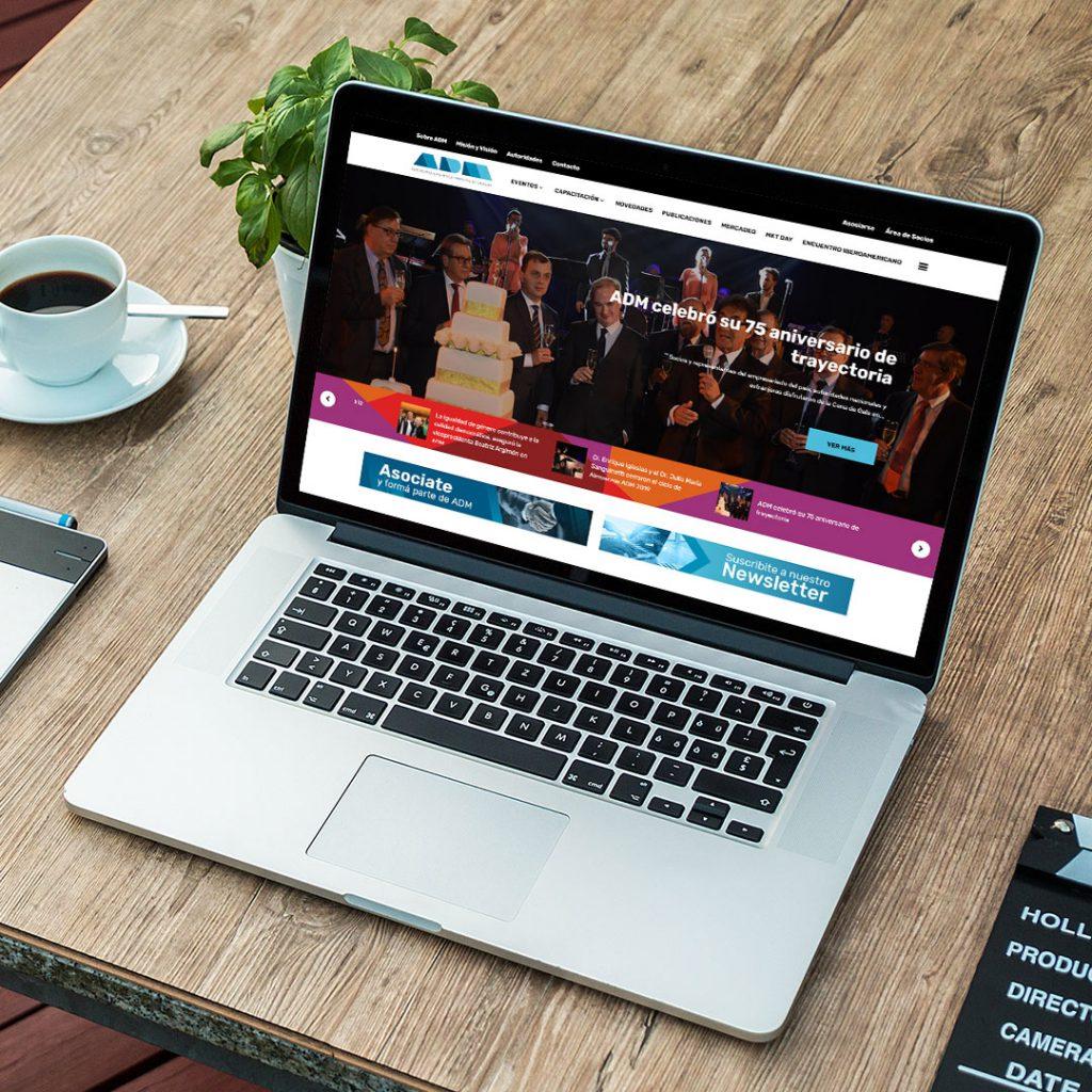 Sitio Web para ADM